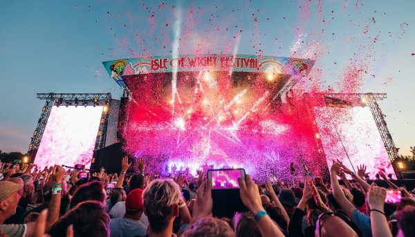 Isle of Wight Festival Main Stage Shot